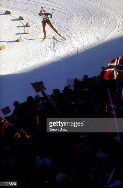 WOMEN's 4X75 BIATHLON RELAY AT THE 1994 LILLEHAMMER WINTER OLYMPICS Mandatory Credit Simon Bruty/ALLSPORT