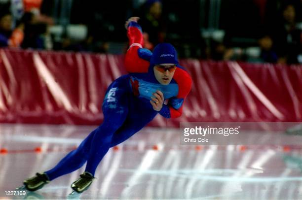 MEN's 500 METER SPEED SKATE AT THE 1994 LILLEHAMMER WINTER OLYMPICS Mandatory Credit Chris Cole/ALLSPORT