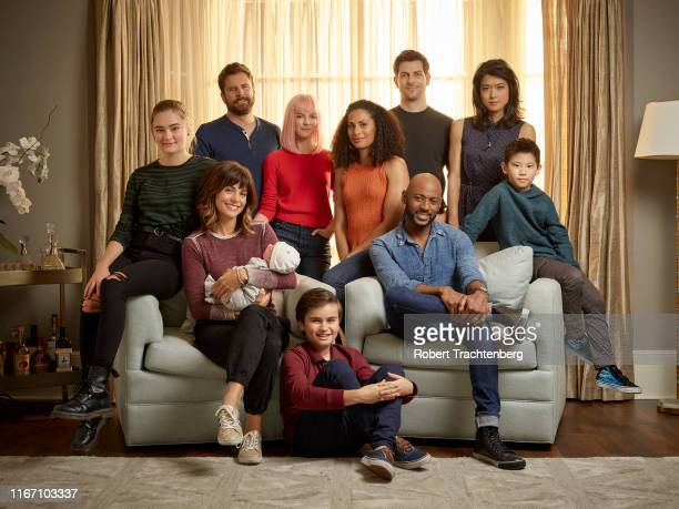 THINGS ABC's A Million Little Things stars Lizzy Greene as Sophie Dixon Stephanie Szostak as Delilah Dixon James Roday as Gary Mendez Allison Miller...