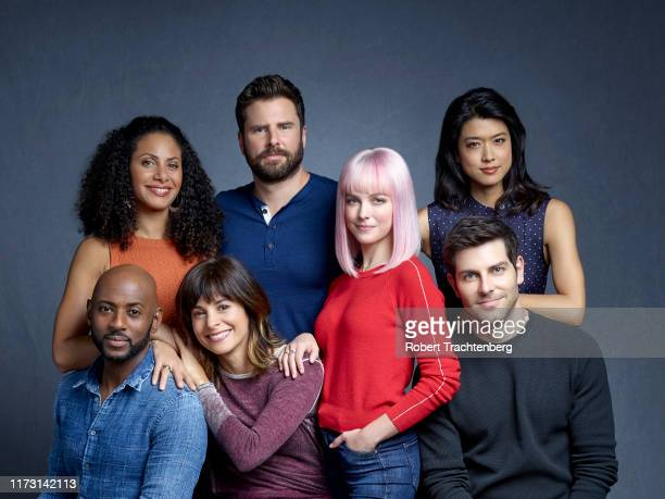 THINGS ABC's A Million Little Things stars Romany Malco as Rome Howard Christina Moses as Regina Howard Stephanie Szostak as Delilah Dixon James...