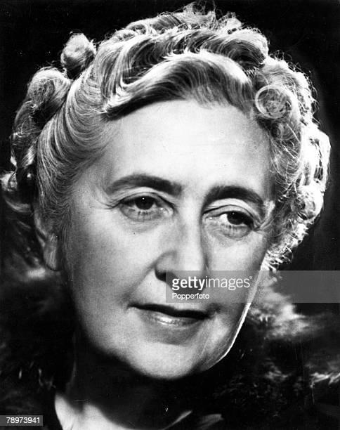 1940's A portrait of British Crime Author Agatha Christie