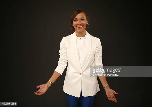 NBC's 'A to Z' Executive Producer Rashida Jones poses for a portrait during the NBCUniversal Press Tour at the Beverly Hilton on July 13 2014 in...