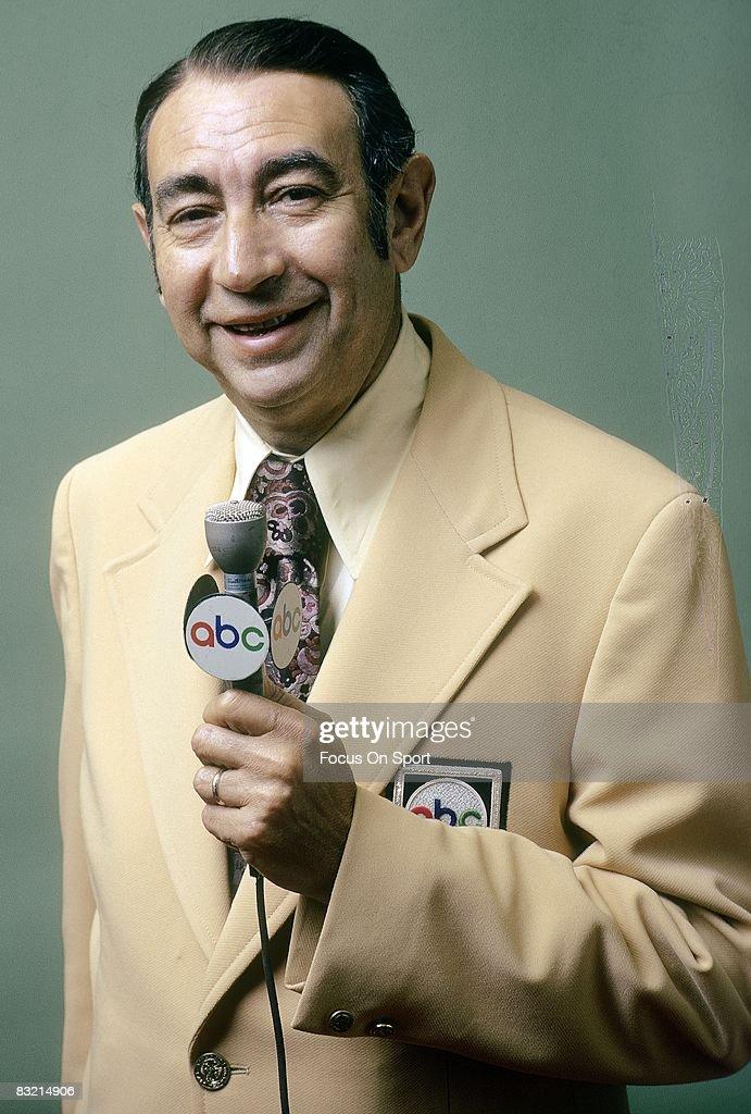 CIRCA 1970's - ABC sports media commentator Howard Cosell.