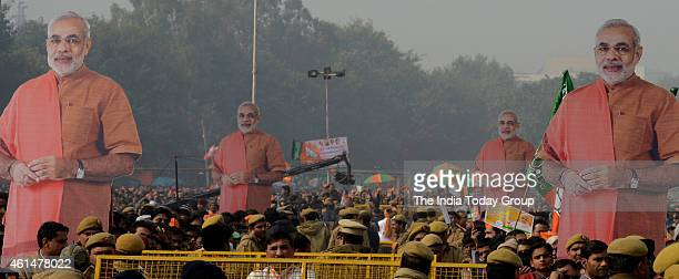 BJP's Abhinandan rally during elections in New Delhi