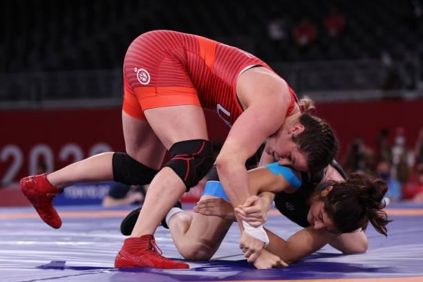 JPN: Wrestling - Olympics: Day 9