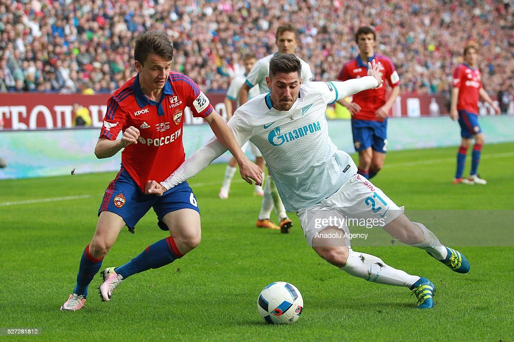 CSKA Moscow vs Zenit St. Petersburg: Russian Cup : News Photo