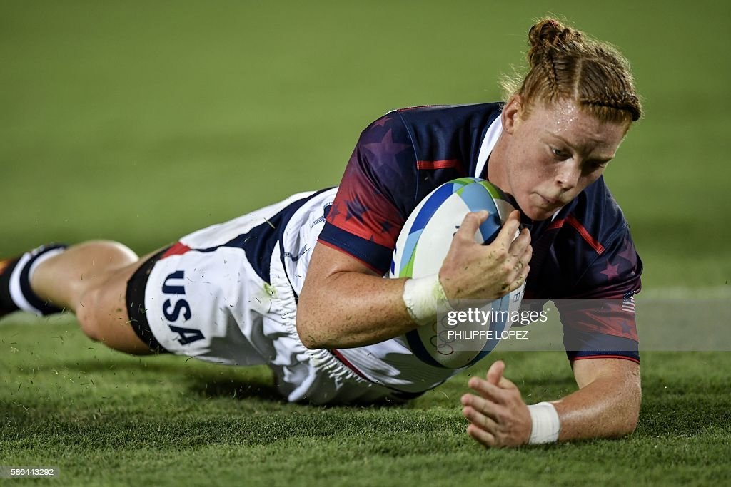 RUGBY7-OLY-2016-RIO-COL-USA : ニュース写真