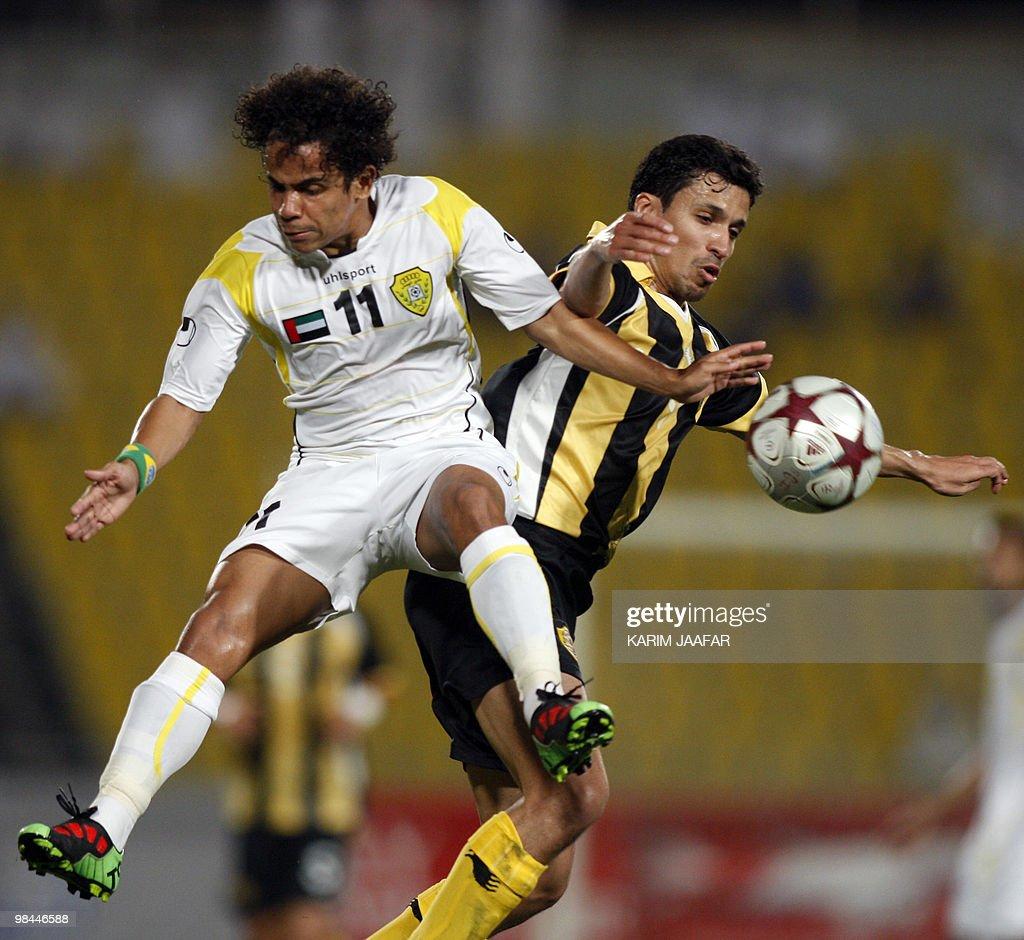 UAE's Al-Wasl club Brazilian footballer : News Photo