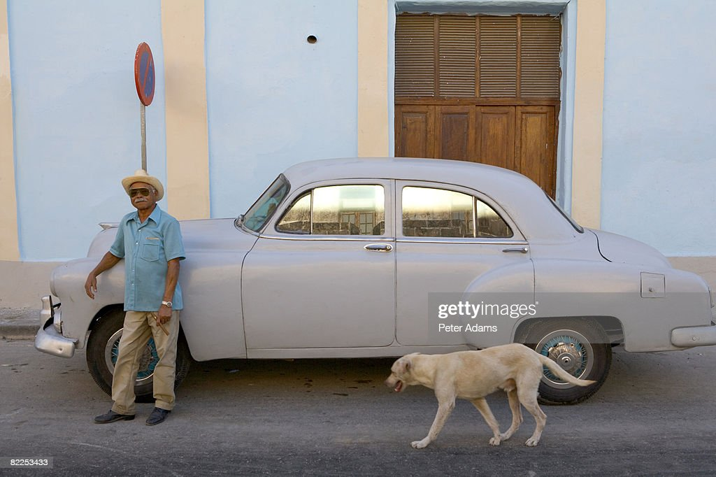 1950's American car, Cuba : Stock Photo