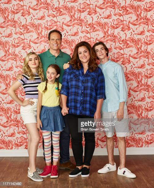 HOUSEWIFE ABC's American Housewife stars Meg Donnelly as Taylor Otto Julia Butters as AnnaKat Otto Diedrich Bader as Greg Otto Katy Mixon as Katie...