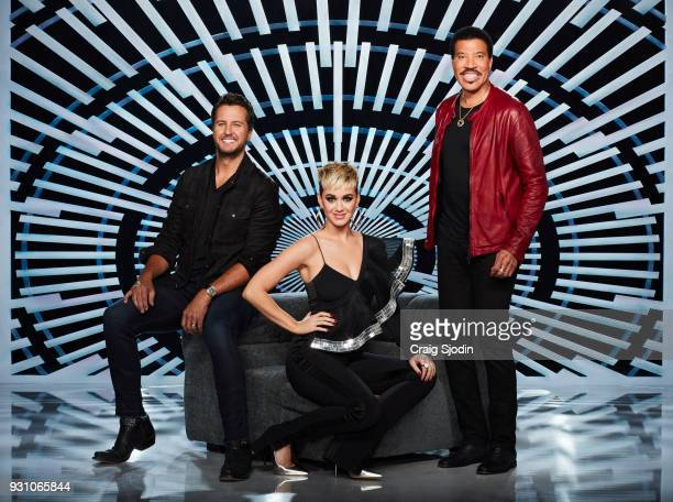 IDOL ABC's 'American Idol' judges Luke Bryan Katy Perry and Lionel Richie