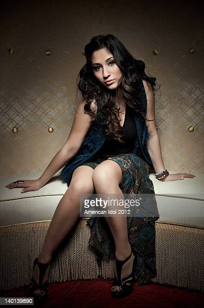 FOX's American Idol Season 11 Top 24 contestant Brielle Von Hugel poses for a portrait on February 28 2012 in Hollywood California