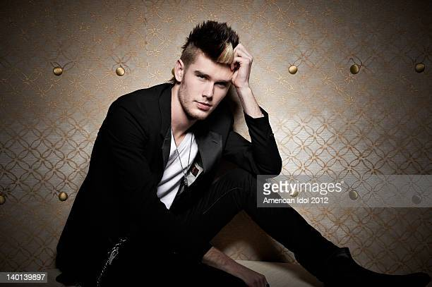 FOX's American Idol Season 11 Top 24 contestant Colton Dixon poses for a portrait on February 28 2012 in Hollywood California
