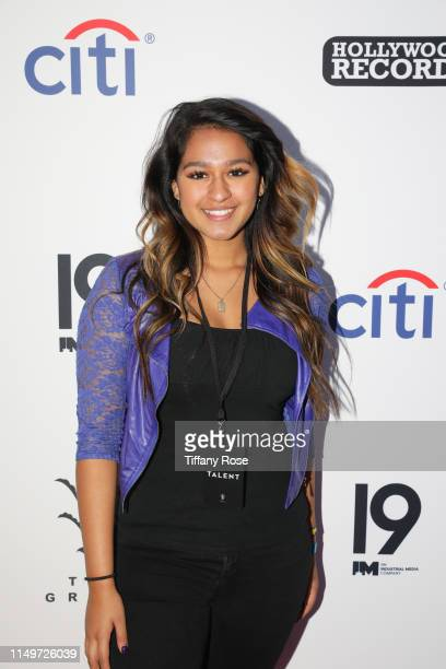 ABC's American Idol Top 10 finalist Alyssa Raghu joins reigning winner and runner up Maddie Poppe and Caleb Lee Hutchinson at Citi Presents Maddie...