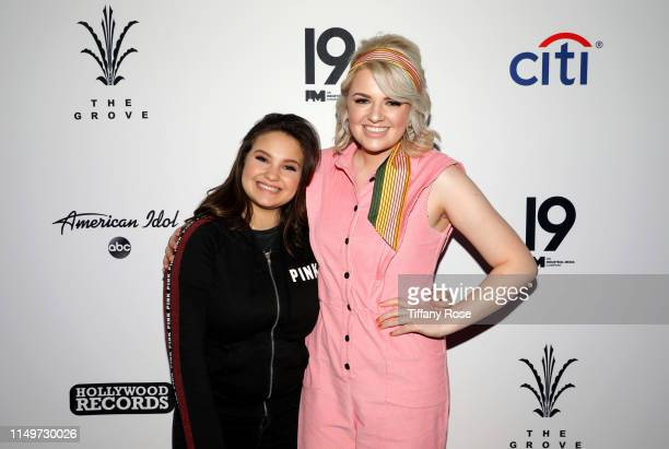 ABC's American Idol Top 10 finalist Madison VanDenburg joins reigning winner and runner up Maddie Poppe and Caleb Lee Hutchinson at Citi Presents...