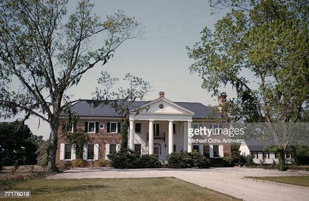 MID 1930's An antebellum plantation house circa mid 1930's in the deep south