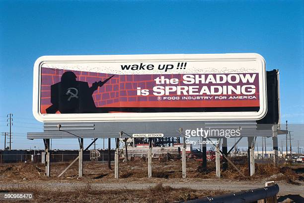 1950's anticommunist billboard sponsored by food industry