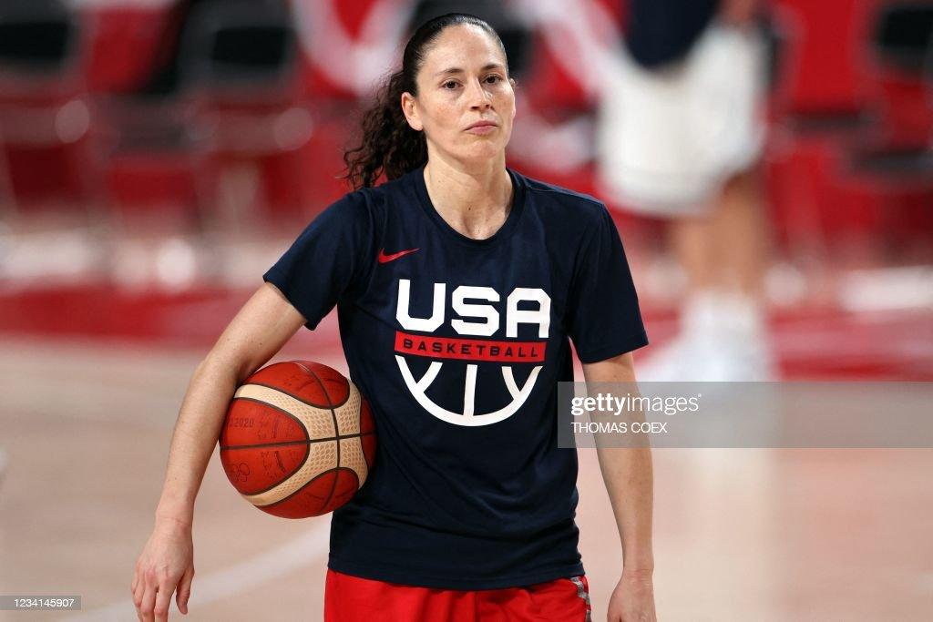 BASKETBALL-OLY-2020-2021-TOKYO-USA : News Photo