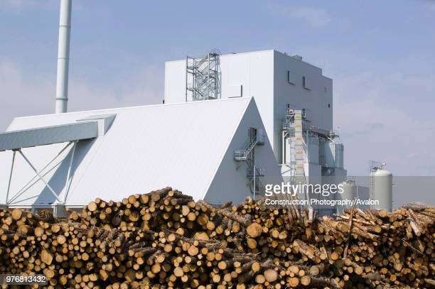 S biofuel power station in Lockerbie Scotland with timber suppliesThe power station is fuelled 100% by wood sourced from local woodlands and...