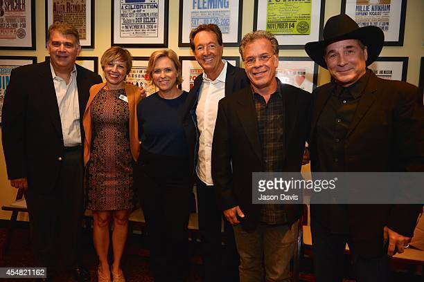 ACM's Bob Romeo Country Music Hall of Fame's Ali Tonn ACM's Lisa Lee Producer Barry Adelman Producer RA Clark and Musician Clint Black arrive at the...