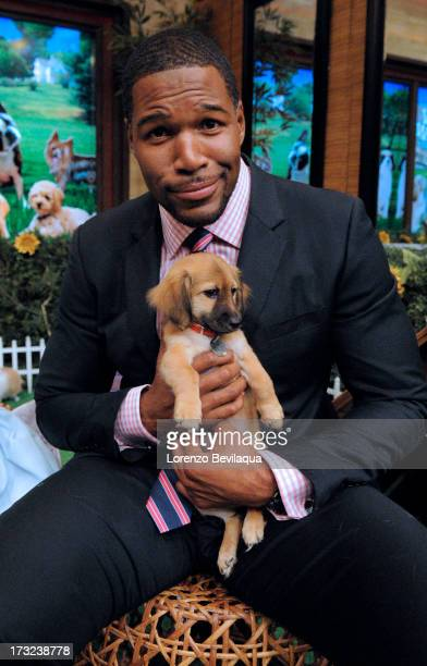 MICHAEL 8/19/13 LIVE's Bow Wow Week Puppy Edition on LIVE with Kelly and Michael distributed by DisneyWalt Disney Television via Getty Images...