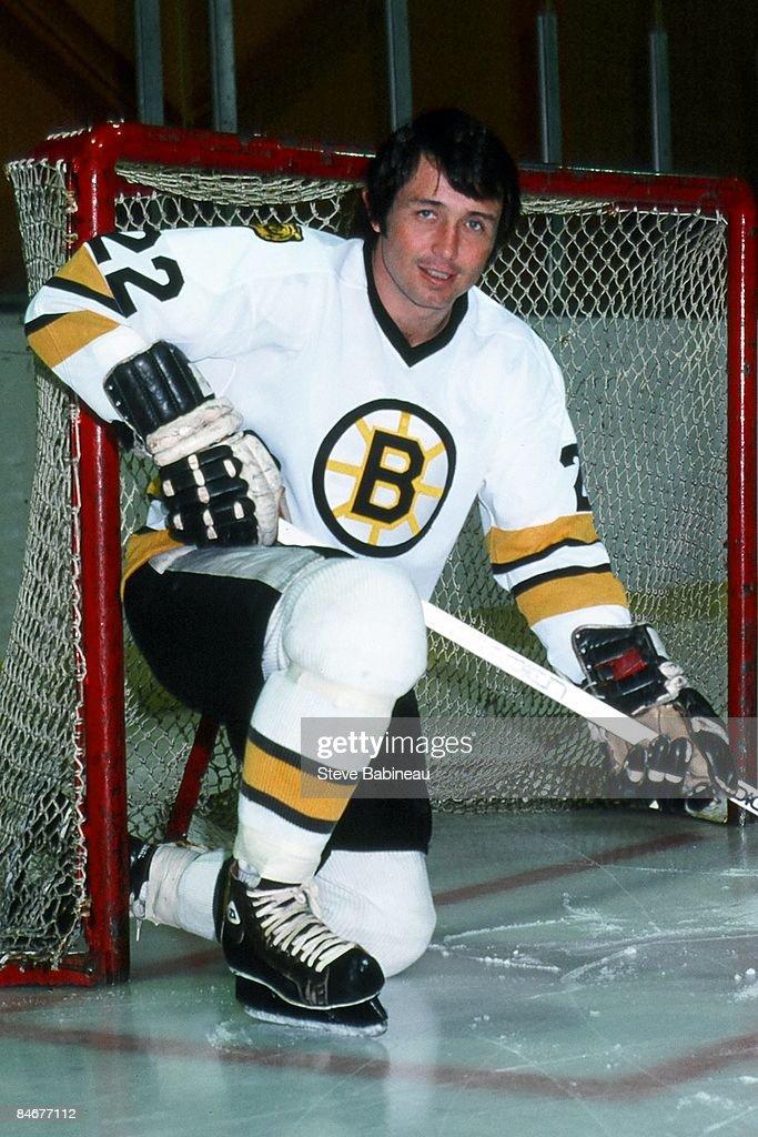 timeless design 59119 47c4f BOSTON, MA. - 1980's: Brad Park of the Boston Bruins posed ...