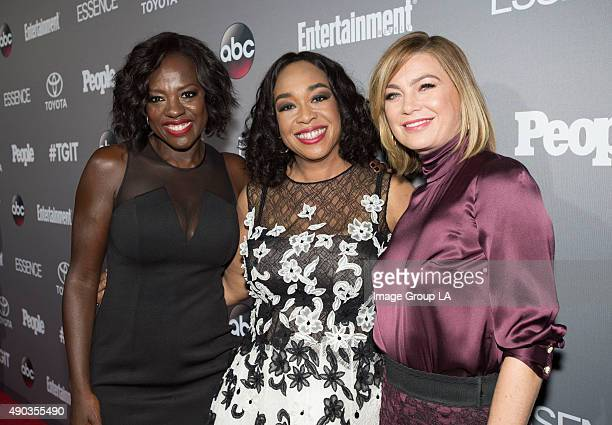 CORPORATE #TGIT's brightest stars and producers attended a special event presented by Toyota and cohosted by Walt Disney Television via Getty Images...