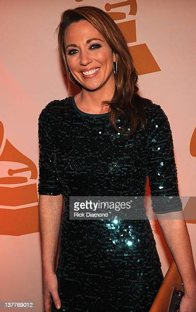 CNN's Brooke Baldwin attends The Georgia GRAMMY Nominee Reception at W Atlanta Downtown on January 24 2012 in Atlanta Georgia
