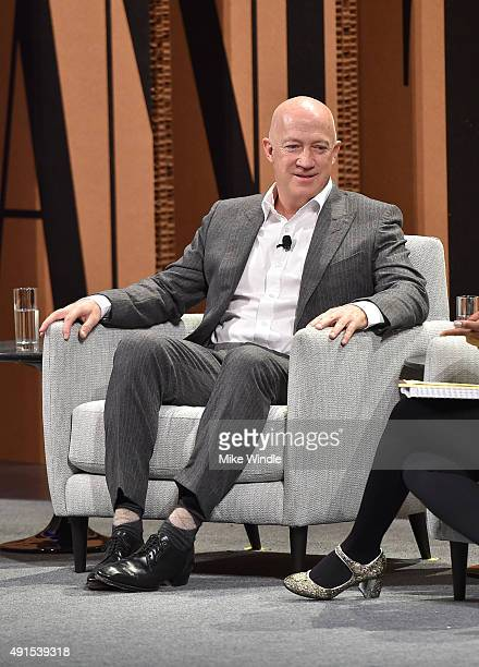 CAA's Bryan Lourd speaks onstage during Which Way LA The New Business of Hollywood at the Vanity Fair New Establishment Summit at Yerba Buena Center...