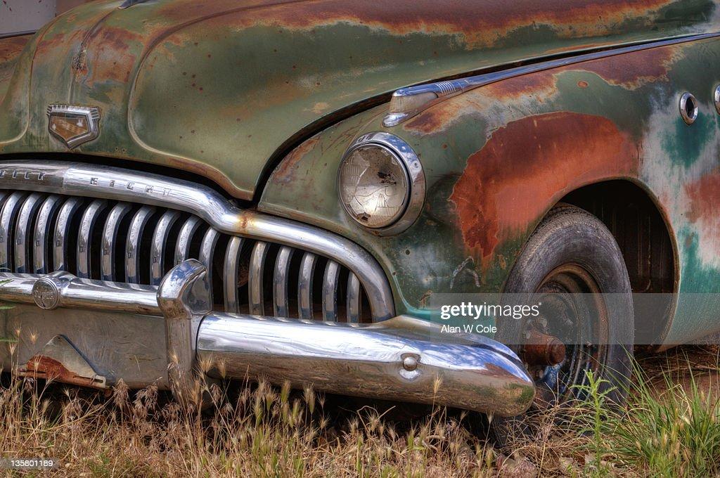 1950's Buick Grill : Foto de stock