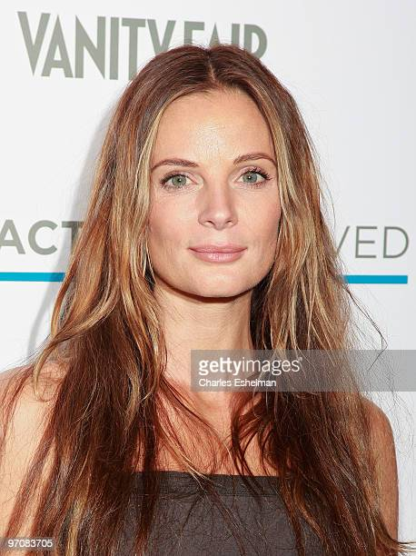 USA's Burn Notice actress Gabrielle Anwar attends the 2nd Annual Character Approved Awards cocktail reception at The IAC Building on February 25 2010...
