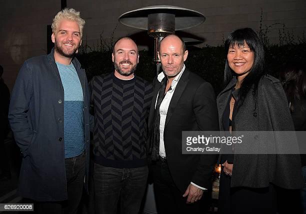 CFDA's Cal McNeil and Adam Roth Senior Vice President of Design Banana Republic Michael Anderson and Senior Director Global PR Banana Republic Tara...