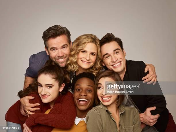 S Call Your Mother stars Rachel Sennott as Jackie Raines, Patrick Brammall as Danny, Austin Crute as Lane, Kyra Sedgwick as Jean Raines, Emma...
