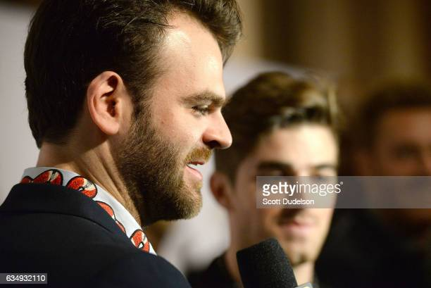 DJ's Chainsmokers attend the 2017 PreGRAMMY Gala And Salute to Industry Icons Honoring Debra Lee at The Beverly Hilton Hotel on February 11 2017 in...