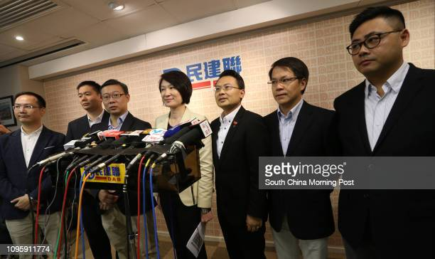 DAB's Chan Hokfung Holden Chow Hoding Horace Cheung Kwokkwan Chairwoman Starry Lee Waiking Brave Chan Yung Gary Chan Hakkan and Deputy...