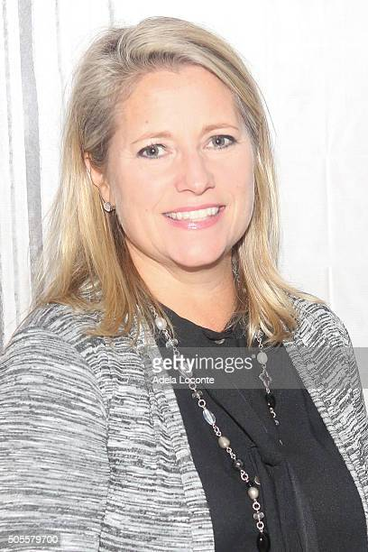 AOL's Chief People Officer Terri Zandhuis attends a discussion on better eating habits and health as part of AOL Build Speaker Series at AOL Studios...