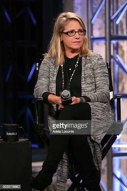 AOL's Chief People Officer Terri Zandhuis discusses better eating habits and health as part of AOL Build Speaker Series at AOL Studios In New York on...