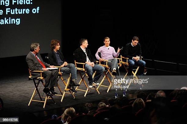 ESPN's Chris Connelly writer/director Brett Morgen Writer Bill Simmons director/producer Mike Tollin and ESPN Films executive producer Connor Schell...