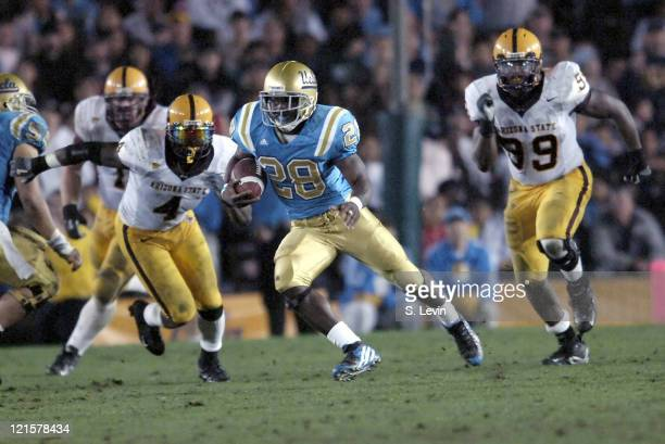 UCLA's Chris Markey during the Arizona State vs UCLA game at the Rose Bowl in Pasadena CA on Nov 12 2005 UCLA won their last home game of the season...
