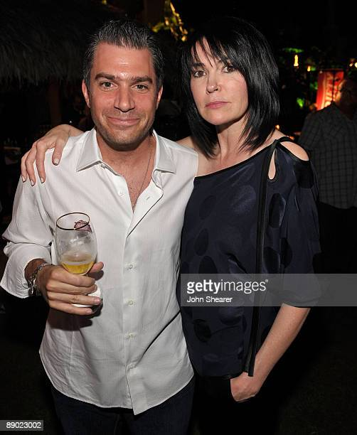 CAA's Christian Carino and Hylda Queally attend the Taste of Chocolate party at Four Seasons Resort Maui on June 19 2009 in Wailea Hawaii