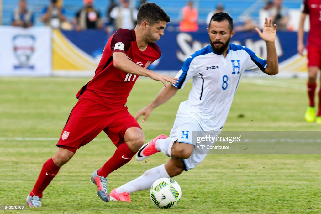 FBL-WC-2018-HON-USA : News Photo