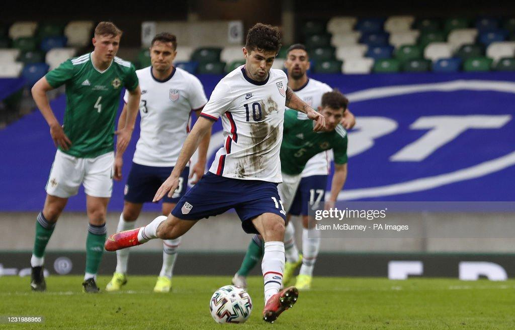 Northern Ireland v USA - International Friendly - Windsor Park : News Photo