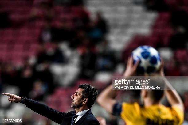 PRT: SL Benfica v AEK Athens - UEFA Champions League Group E