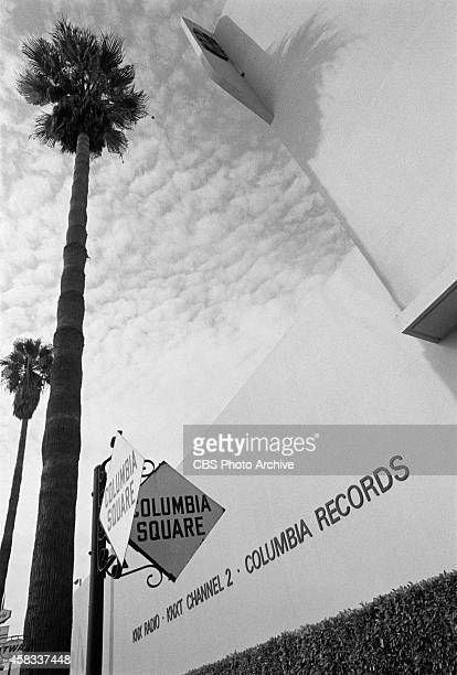 CBS's Columbia Square Los Angeles California Image dated October 22 1970