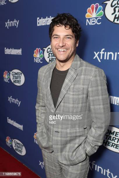 EVENTS NBC's Comedy Starts Here party Pictured Adam Pally Indebted