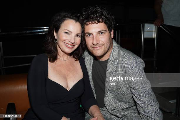 EVENTS NBC's Comedy Starts Here party Pictured Fran Drescher Adam Pally Indebted