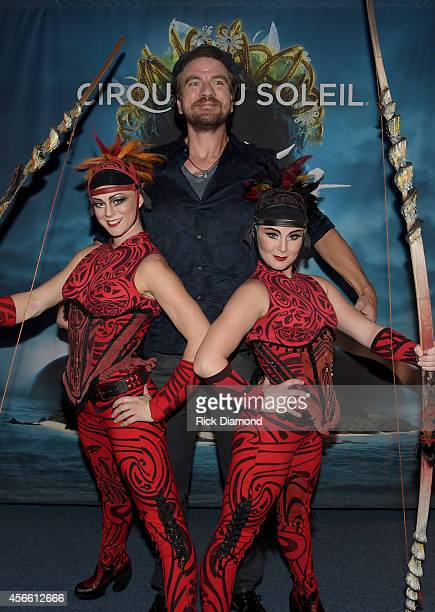 "S ""Constantine"" cast member Charles Halford attends Amaluna opening night at the Big Top at Atlantic Station on October 3, 2014 in Atlanta, Georgia."