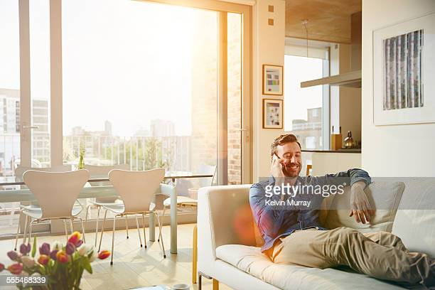 40's Couple In Apartment