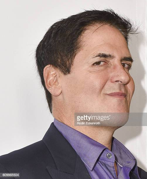 NBA's Dallas Mavericks/Landmark Theatres/Magnolia Pictures owner and chairman of the HDTV cable network AXS TV Mark Cuban attends the Shark Tank...