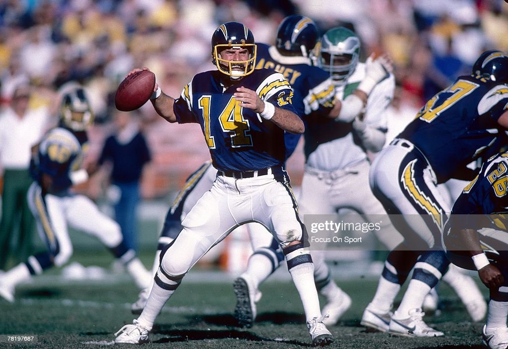 s-dan-fouts-of-the-san-diego-chargers-is-set-to-throw-a-pass-against-picture-id78197687